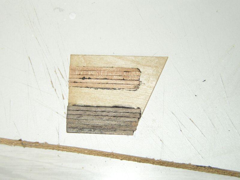IO: Calfatage technique : bordage de pont, méthode colle noire et autre Pont123