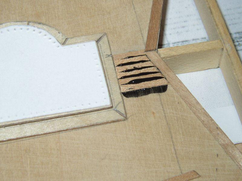 IO: Calfatage technique : bordage de pont, méthode colle noire et autre Pont124